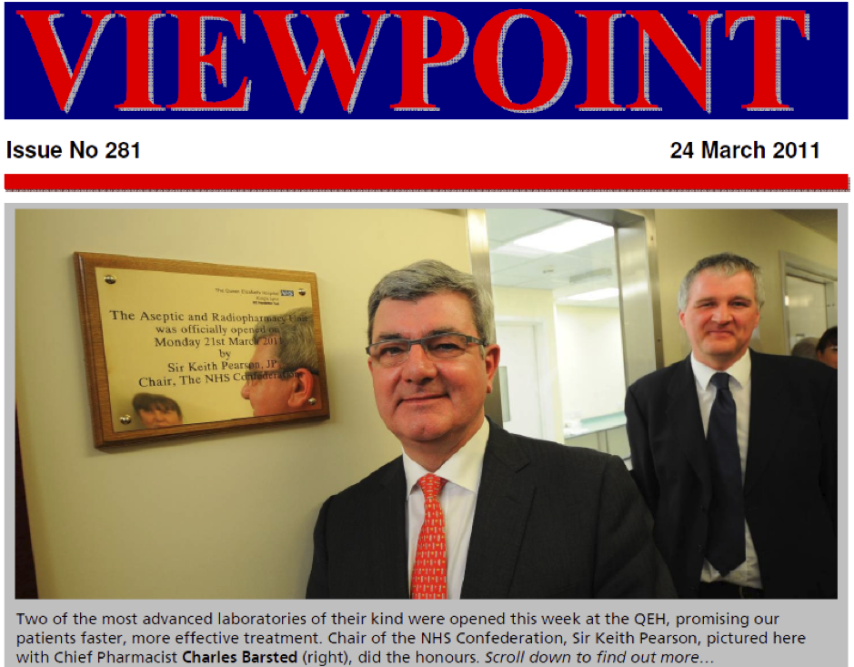 Viewpoint 24 March 2011